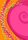 Vector abstracte kleurrijke achtergrond Stock Afbeelding