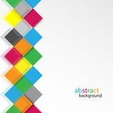 Vector abstracte kleurrijke achtergrond Stock Fotografie