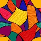 Vector abstracte naadloze achtergrond Stock Foto