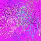 Vector abstracte naadloze achtergrond Stock Afbeeldingen