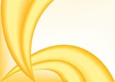 Vector abstracte oranje achtergrond Stock Foto's