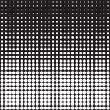 Vector abstracte puntenachtergrond Royalty-vrije Stock Fotografie