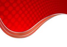 Vector abstracte rode achtergrond Royalty-vrije Stock Foto's
