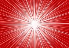 Vector abstracte rode achtergrond Stock Foto