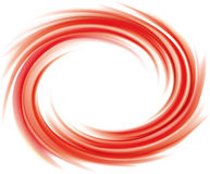 Vector abstracte rode wervelingsachtergrond stock illustratie