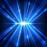 Vector abstracte toekomstige technologie, illustratieachtergrond Royalty-vrije Stock Foto's