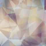 Vector abstracte veelhoekige achtergrond Stock Foto's