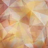 Vector abstracte veelhoekige achtergrond Stock Fotografie