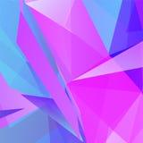 Vector abstracte violette geometrische driehoekige achtergrond vector illustratie