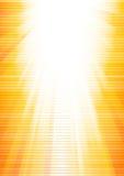 Vector abstracte zonnige achtergrond Stock Afbeelding