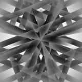 Vector abstracte zwart-wit techno eps van de patroonlijn Royalty-vrije Stock Afbeeldingen