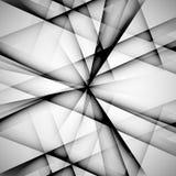 Vector abstracte zwart-wit techno eps van de patroonlijn Royalty-vrije Stock Fotografie