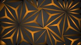 vector abstracte zwarte veelhoek als achtergrond stock illustratie