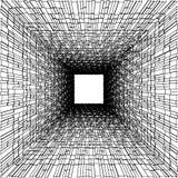 Vector abstracto 116 de las construcciones del azulejo Imagen de archivo libre de regalías