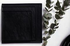 Vector abstracto blanco y negro imagen de archivo libre de regalías