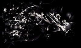 Vector abstracto blanco y negro