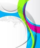 Vector abstracto colorido Foto de archivo libre de regalías