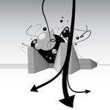 Vector abstracto de la ciudad