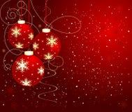 Vector abstracto del fondo de la Navidad Fotos de archivo libres de regalías