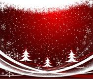 Vector abstracto del fondo de la Navidad Imagenes de archivo