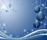 Vector abstracto del fondo de la Navidad Imagen de archivo libre de regalías