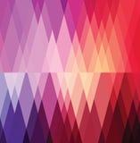 Vector abstracto del fondo del color rojo. Foto de archivo