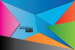 Vector abstracto del fondo del vector Foto de archivo libre de regalías