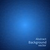 Vector abstracto del fondo Líneas en un fondo azul Diseño Fotos de archivo
