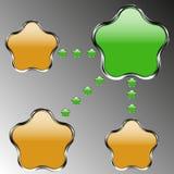 Vector abstracto del sitio web Foto de archivo