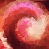 Vector abstracto espiral del fondo Fotografía de archivo