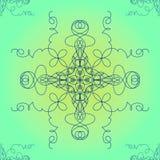 Vector abstracto ornamental EPS10 Imagenes de archivo