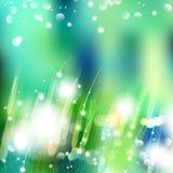 Vector abstrakten defocused bokeh Lichtnaturfrühlings-Sommerhintergrund Undeutlicher Hintergrund des stilvollen Hippies mit bokeh Stockbild