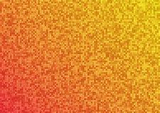 Vector abstrakten hellen Hintergrund des orange Rotes der Mosaiksteigung Stockfotografie