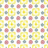 Vector abstraktes Muster für Design, viele geometrischen Formen Stockbild