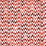 Vector abstraktes nahtloses Muster mit Hand gezeichnetem Sparren häckchen Lizenzfreie Stockfotos