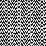 Vector abstraktes nahtloses Muster mit Hand gezeichnetem Sparren schwarzes Lizenzfreies Stockfoto