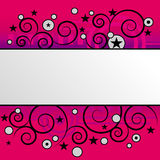 Vector achtergrond Royalty-vrije Stock Foto's