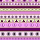 Vector achtergrond die van geometrische cijfers wordt gemaakt. Royalty-vrije Stock Fotografie