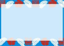 Vector Achtergrond Luau Royalty-vrije Stock Fotografie