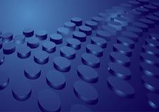Vector achtergrond met blauwe achtergrond Royalty-vrije Stock Foto