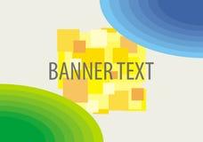 Vector achtergrond voor banner Stock Foto's