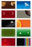 Vector achtergronden Royalty-vrije Stock Foto's