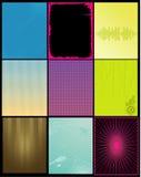 Vector achtergronden Stock Foto's