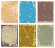 Vector Achtergronden Grunge Royalty-vrije Stock Afbeeldingen
