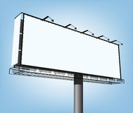 Vector advertising construction Stock Images