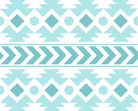 Vector African Ethnic Pattern Black and White Background Illustration Royalty Free Stock Image