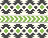 Vector African Ethnic Pattern Natural Background Illustration Royalty Free Stock Photography