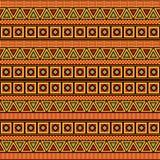 Vector africano del modelo stock de ilustración