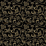 Vector aged ornamental background. Vector aged grunge ornamental background with scratch and attrition Royalty Free Stock Images