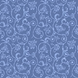 Vector aged ornamental background. Vector aged grunge seamless ornament with scratch and attrition Stock Photos